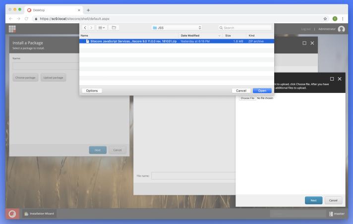 Sitecore 9 How to setup Sitecore JSS