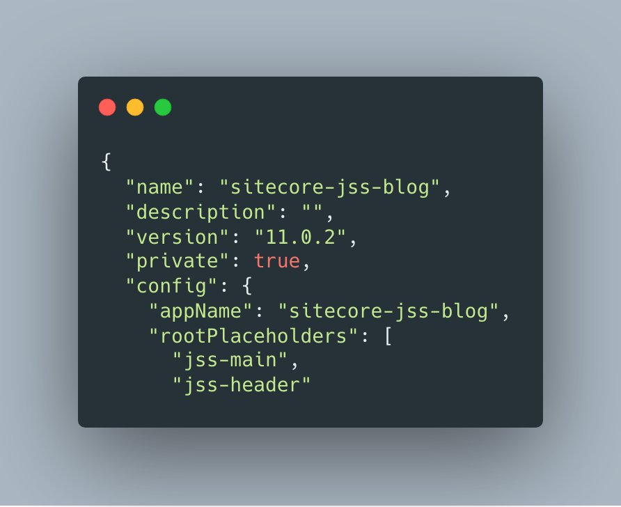 Sitecore JSS Register Placeholders
