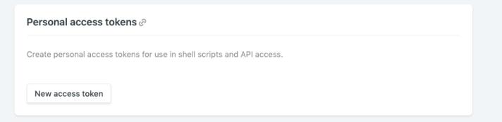 Netlify Access Token